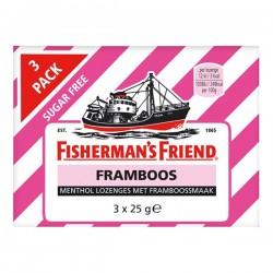 Fisherman's friend Framboos pastilles 3-pak