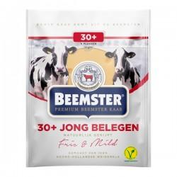 Beemster kaas Jong belegen 30+ plakken 150 gram