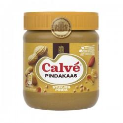 Calvé Pindakaas met stukjes pinda 350 Gram