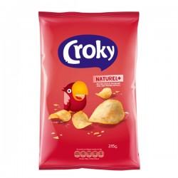 Croky chips Naturel 215 Gram