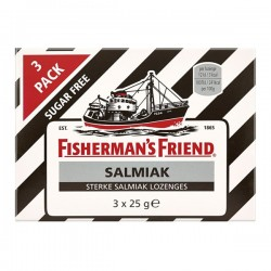 Fisherman's friend Salmiak pastilles 3-pak