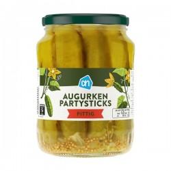 Albert Heijn Augurken party sticks Hot 670 Gram