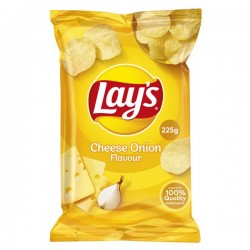 Lay's Chips Cheese-Onion 225 Gram