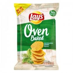 Lay's Oven chips Mediterranean herbs 150 Gram