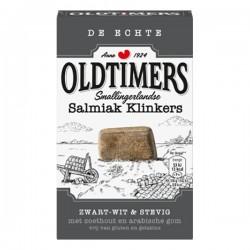 Oldtimers Zwart-wit salmiak klinkers 235 Gram