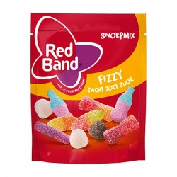 Red Band Snoep-mix Fizzy 240 gram