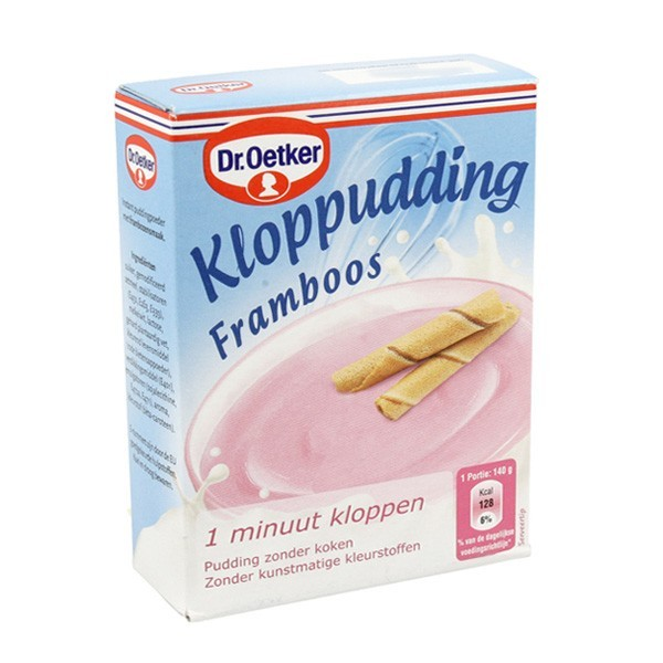 Dr. Oetker Kloppudding Framboos