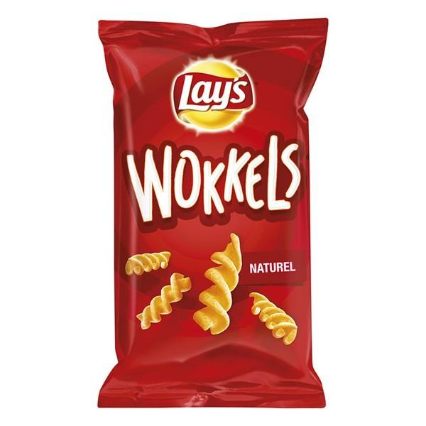 Lay's Wokkels Naturel zak 100 Gram