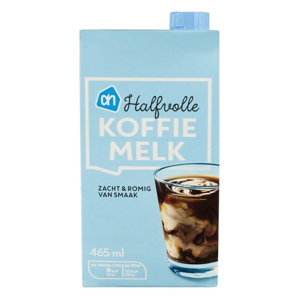 Huismerk Koffiemelk halfvol pak 465 ml