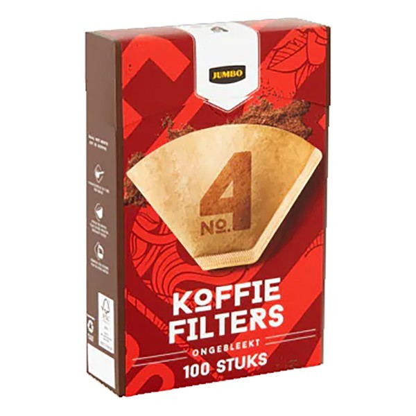 Huismerk Koffiefilters Bruin nr. 4