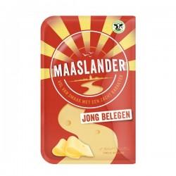 Maaslander kaas Jong Belegen 50+ plakken 200 gram
