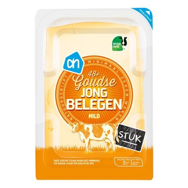 Huismerk Goudse kaas Jong belegen stuk ca. 535 gram