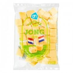 Huismerk Goudse kaas Jong in blokjes 200 gram
