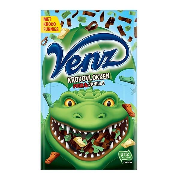 Venz rimboe Kroko vlokken puur-vanille 200 gram
