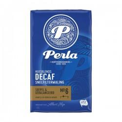 Perla snelfilter maling koffie cafeïnevrij 250 gram