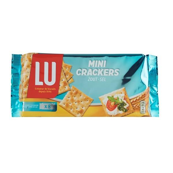 LU Mini crackers zout 250 gram