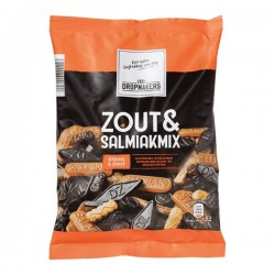 Dropmakers Salmiak & Zoute drop-mix 400 gram