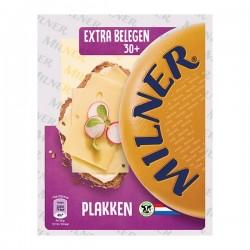 Milner Extra belegen kaas plakken 175 gram