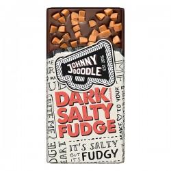 Johnny Doodle Dark salty fudge 150 gram