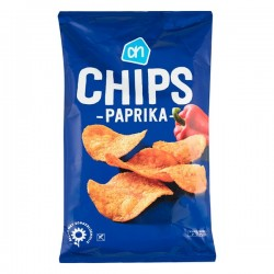 Huismerk chips Paprika 250 Gram