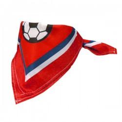 Rood-wit-blauwe Voetbal bandana