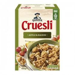 Quaker Cruesli Appel-rozijn 450 gram