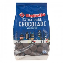 Bolletje Chocolade kruidnoten extra puur 300 Gram