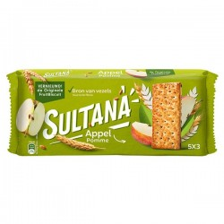 Sultana Fruitbiscuit Appel 5x3