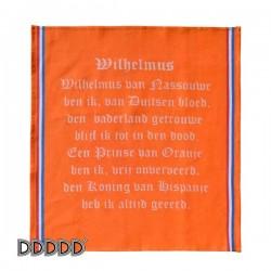 DDDDD Theedoek Wilhelmus