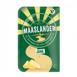 Maaslander kaas Jong 50+ plakken 200 gram