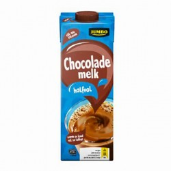 Huismerk chocolade melk halfvol 1 liter