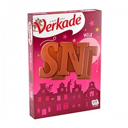 Verkade chocolade letter Sint 135 gram