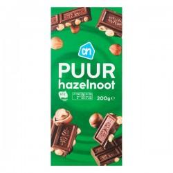 Albert Heijn chocolade tablet puur-hazelnoot 200 gram