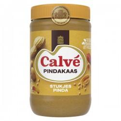 Calvé Pindakaas met stukjes pinda X-large 1000 Gram
