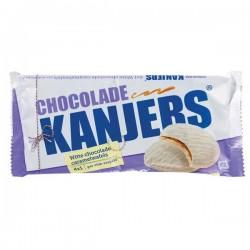 Kanjers Witte chocolade wafels 4x1 pak