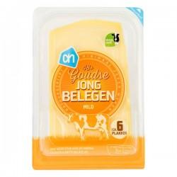 Huismerk Goudse kaas Jong belegen plakken 190 gram