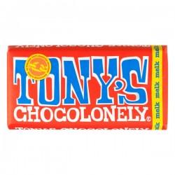 Tony's Chocolonely melk chocolade reep 180 gram