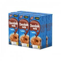 Huismerk chocolade melk halfvol 6 x 200 ml