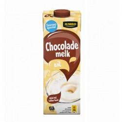 Jumbo chocolade melk Wit 1 liter