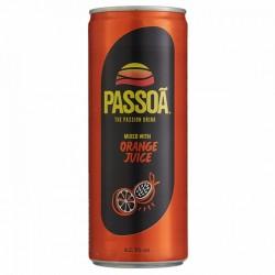 Passoa met Jus d'orange Blik 250 ml