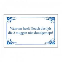 Koelkast magneet Noach