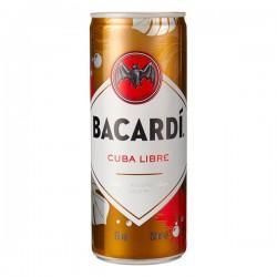 Bacardi Cuba Libre Blik 250 ml