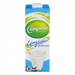 Campina Langlekker halfvolle melk 1000 ml