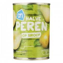 Huismerk halve Peren op siroop 410 gram