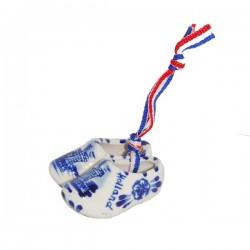 Delfts Blauwe Klompjes aan lintje 5 cm