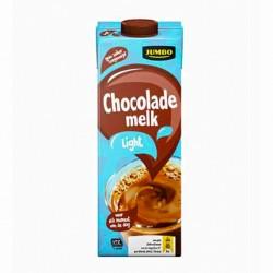 Huismerk chocolade melk light 1 liter