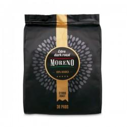 Moreno Koffiepads Extra dark roast 36 stuks
