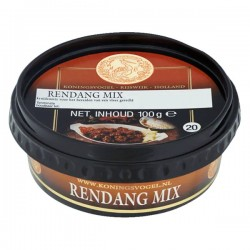 Koningsvogel Rendang mix 100 gram