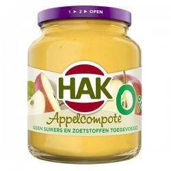 Hak Appelcompote 0% 350 gram
