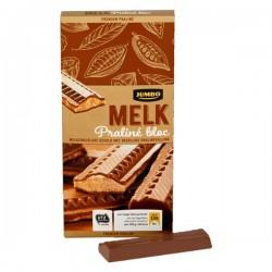 Huismerk Praline bloc melk chocolade 200 gram
